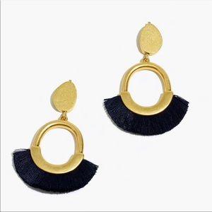 Madewell fringe statement earring